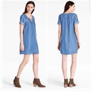 Lucky Brand Swing Chambray Dress